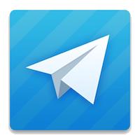 Telegram Messenger Logo