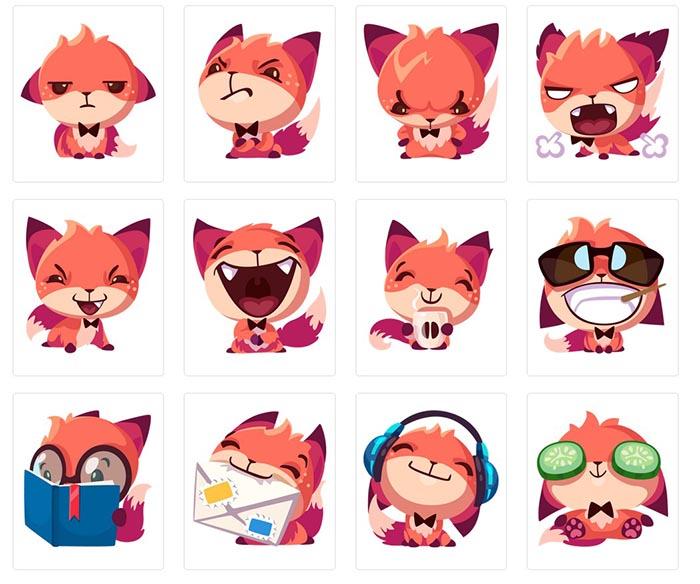 Foxy-stikers (1)