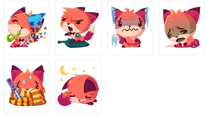 Foxy-stikers (2)