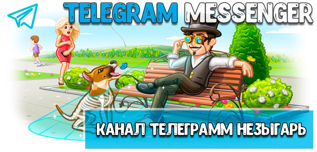 Канал телеграмм незыгарь