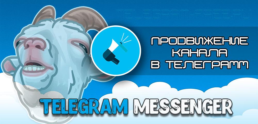 Продвинуть канал в телеграмм