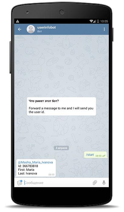 Telegram ID как узнать